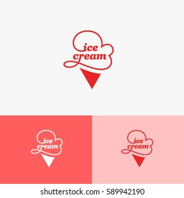Ice Cream Cone Logo
