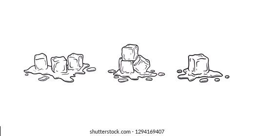 Imágenes, fotos de stock y vectores sobre Cube Hand Drawn