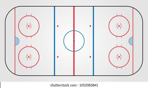 Ice hockey field coach board