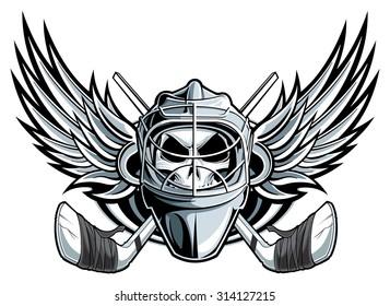 Goalie Mask Images Stock Photos Vectors Shutterstock