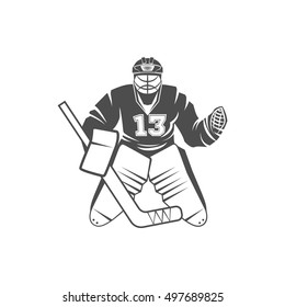 Hockey Goalie Logo Images Stock Photos Vectors Shutterstock