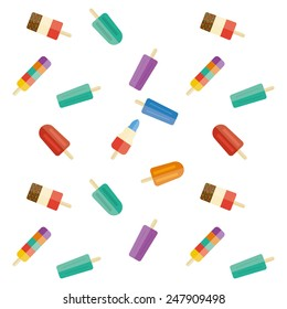 Ice lolly repeating pattern