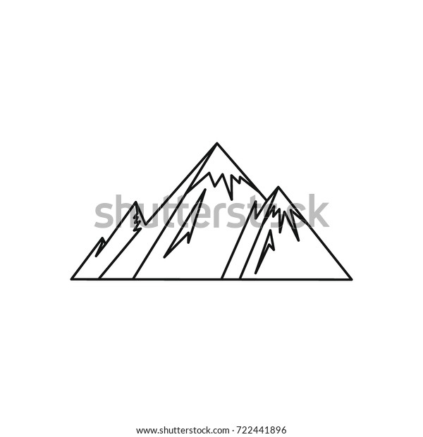 Clip Art Mount Everest Euclidean Rolling - Ice Mountain Vector Png , Free  Transparent Clipart - ClipartKey