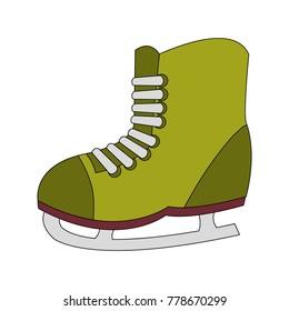 Ice skate design