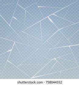 Ice surface background with cracks and scratches