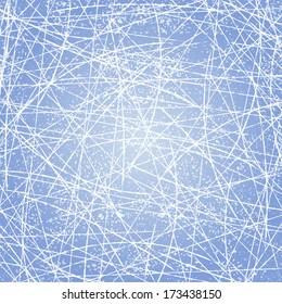 Ice texture background. Vector illustration.