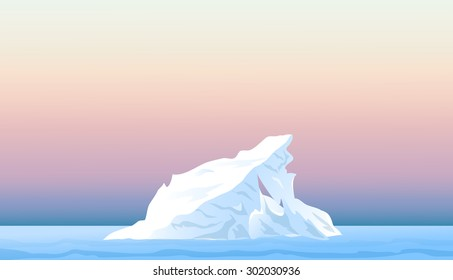 Iceberg at Afternoon