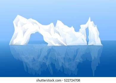 Iceberg - Vector