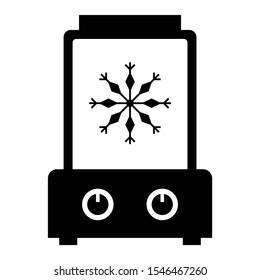 Icecream Maker Vector Icon Design