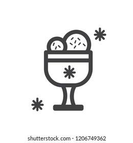 Icecream vector icon