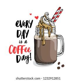 ilustraciones imagenes y vectores de stock sobre ice coffee
