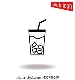 Iced Drink icon.