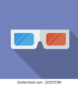 Icon 3D Cinema Glasses.