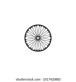 an icon about a bicycle wheel