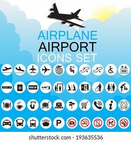 Icon Airport set