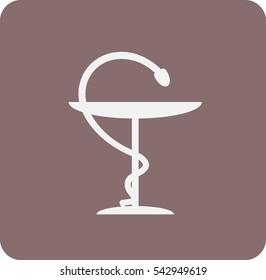 icon of an  ambulance emblem