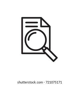 icon analyzing data