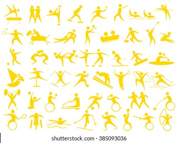 Icon of the athlete