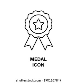 Icon award medals or labels of trusted quality