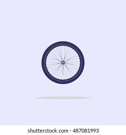 Icon bicycle wheel.