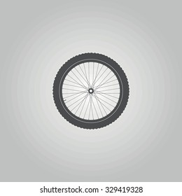 Icon  bicycle wheel (36 spokes)
