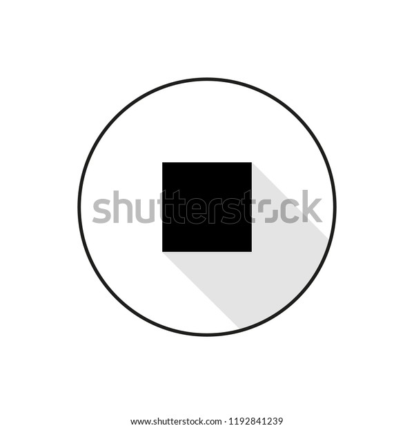 icon black square