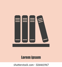 icon of books