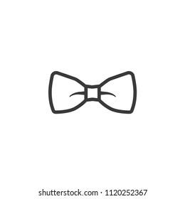 Icon bow tie trendy style