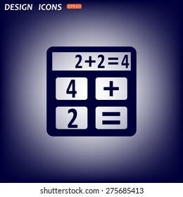 icon calculator. icon. vector design