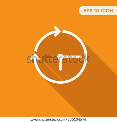 Dating website icons orange