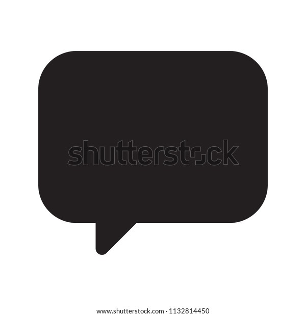 icon comment logo design universal business stock vector royalty free 1132814450 shutterstock