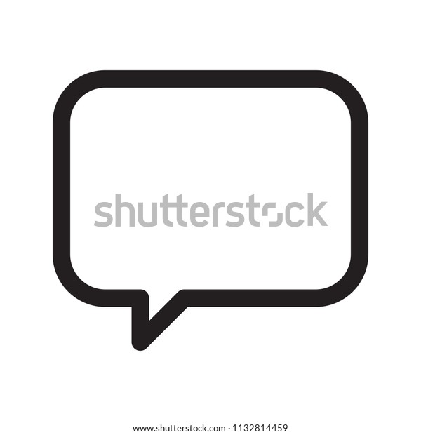 icon comment logo design universal business stock vector royalty free 1132814459 shutterstock