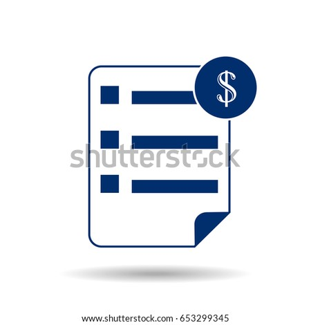 icon contract stock vector royalty free 653299345 shutterstock
