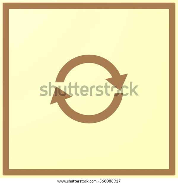 icon of cyclic arrows