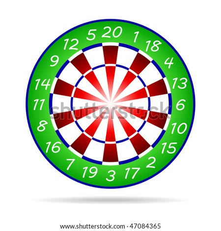 Icon Darts Clipart Stock Vector Royalty Free 47084365 Shutterstock