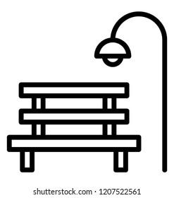 Icon design of a city park