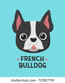 Icon Dog breed French bulldog.