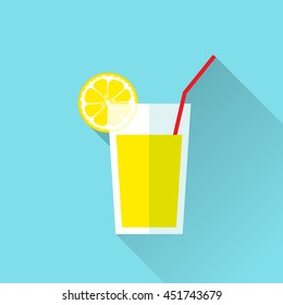 Lemon Juice Gl Lemon Slice Half Stock Vector (Royalty Free ... on