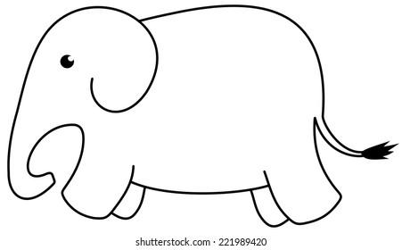 an icon elephant