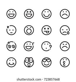 icon face, vector
