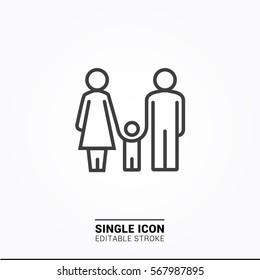 Icon family icon graphic designs