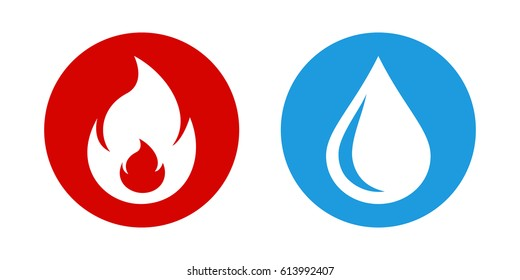 Icon fire water