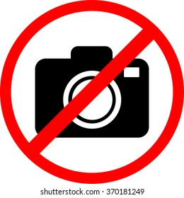 Icon is forbidden  to Use Camera