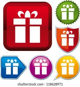 icon gift box