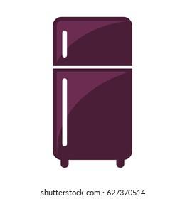 Icon illustration for refrigerator