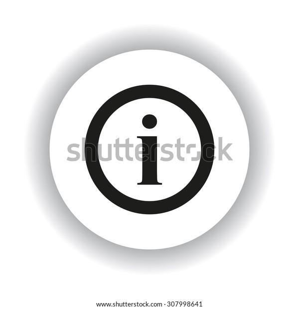 icon of info. icon. vector design