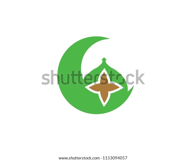 icon islam symbol mosque muslim stock vector royalty free 1153094057 shutterstock