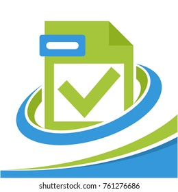 icon logo for business license file management