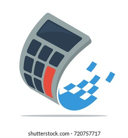 Icon logo / illustrations for digital business, budget management services