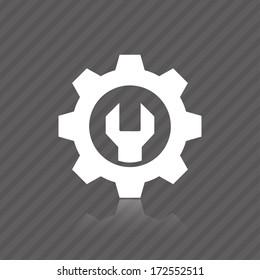 icon mechanics. vector eps10